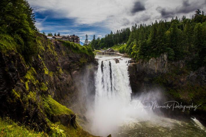 Salish Lodge Wedding Snoqualmie Falls Washington Tacoma Seattle Photographer Unique Moments Photography Blog