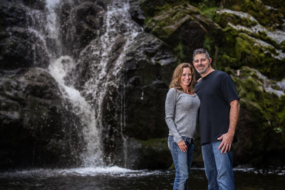 Waterfall Engagement photos near Eatonville Wa | Tacoma ...