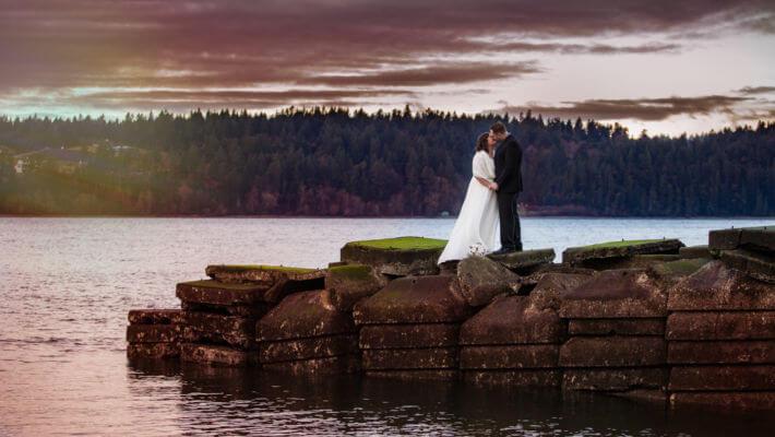 The Ruston Chapel Elopement Wedding Tacoma Wa 98407